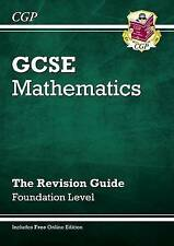 CGP GCSE MATHS FOUNDATION LEVEL THE REVISION GUIDE QUESTIONS ANSWERS 2013