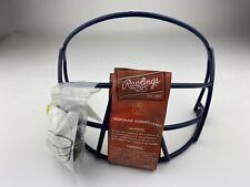 New listing Genuine Rawlings NOCSAE Blue Softball Helmet Face Guard Model No. SBRWG-N New