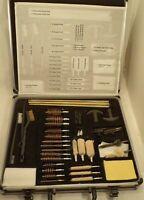 Universal Gun Cleaning Kit Pistol Rifle Shotgun Firearm  45 pcs plus patches