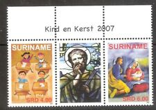 Suriname Zbl Nr 1490/1491 in TB paar met tussenstrook    Postfris.