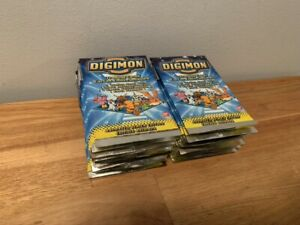 X24 Digimon Cards Animated Series 1 Sealed Booster Packs Bandai English