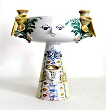 WIINBLAD EVA Vtg Mid Century Danish Modern Ceramic Pottery Vase Bowl Sculpture