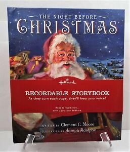 RARE Hallmark Recordable Storybook ~THE NIGHT BEFORE CHRISTMAS~ BRAND NEW!!