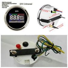 52mm Car Motorcycle Universal Digital GPS Odometer Speedometer+GPS Speed Sensor
