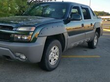 2002-2006 Chevy avalanche fender flares