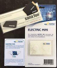4 Fostac/Sana.fon Chips + 2 Electric Mini,  harmonisieren Elektrosmog…