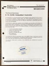 Motorola - Mc68000 8-/16-/32-Bit Embedded Controller Data Sheet (1991)