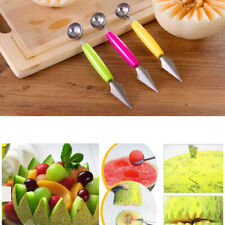 Watermelon Melon Baller Carving Fruit Knife Ice Cream Scoop DIY Tools Ball