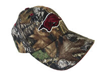 Ncaa Arkansas Razorbacks Camo Mens One Size Baseball Cap Hat NWT