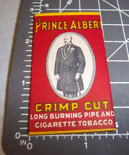 Vintage package of Prince Albert Cigarette Rolling Paper, great colors & graphic