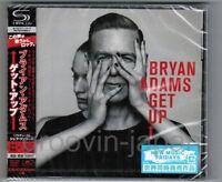 Sealed Promo! BRYAN ADAMS Get Up JAPAN SHM-CD UICP-1168 w/OBI Jeff Lynne Free SH