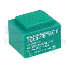 1pcs  Trasformatore incapsulato 2VA 230VAC 6V Montaggio PCB IP00 TELSTORE