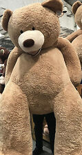 """* enorme gigante-Hugfun 93 """" 235cm TEDDY BEAR PELUCHE Giocattolo morbido x grandi COCCOLONE REGALO *"""