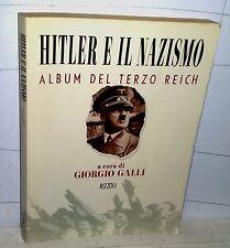 HITLER E IL NAZISMO album del Terzo Reich  1998