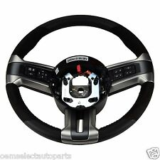 OEM NEW 2013-2014 Ford Mustang GT500 Suede Leather Steering Wheel DR3Z3600AB