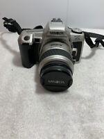 Minolta Maxxum HTsi Plus 35mm SLR Film Camera with Zoom Lens Tested