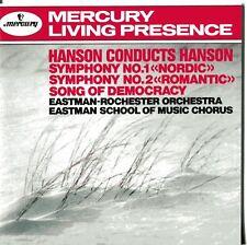 Hanson conducts Hanson / CD (neu, OVP) Eastman-Rochester Orchestra