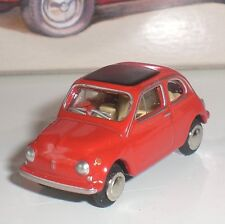 BUB 09550 VOITURE FIAT 500 ITALIA LIMITED EDITION DIECAST ECHELLE 1:87 HO NEUF