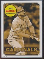 2018 Topps Heritage High Number Jose Martinez 5x7 Gold Action Image /10