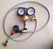 Shock Nitrogen regulator stainless w/ no loss chuck king fox air shocks 6 hose