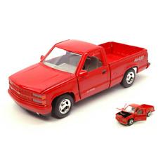 CHEVROLET 454 SS PICK UP 1992 RED 1:24 MotorMax Auto Stradali Die Cast