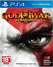 God of War III Remastered (Chi / English Ver) for PS4 Sony Playstation 4