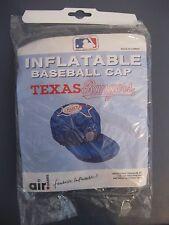 TEXAS RANGER INFLATABLE BASEBALL CAP/HAT NEW IN PACKAGE MLB LICENSED
