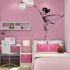 Wall Room Decor Art Vinyl Sticker Mural Decal Ballet Dance Women Ballerina FI360
