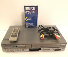 New ListingSanyo Dvw-7000 Dvd Vcr Combo Player Vhs Recorder W/ Remote Rca Cables & Tape