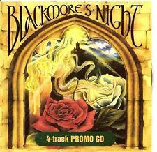 BLACKMORE'S NIGHT 4 track rare PROMO CD