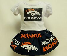 Denver Broncos Outfit For 18 Inch Doll