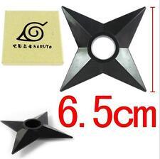 DZ612 Cosplay Ninja Hokage Naruto PVC 6.5cm Ninja darts Shuriken with box X1