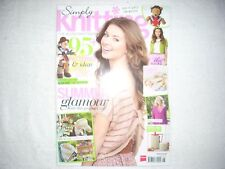 Simply Knitting Magazine Issue 121 June 2014 Summer Knits