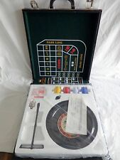 EXCALIBUR Casino Gaming Set in Case Black Jack Roulette Craps PARTS SEALED