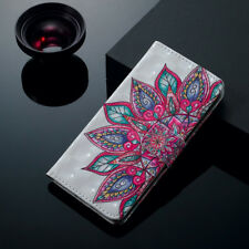 Wallet Leather Case Flip Phone Cover For iPhone & Samsung Galaxy S A J Series