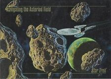 "1993 SKYBOX STAR TREK ""NAVIGATING THE ASTROID FIELD"" TRADING CARD #S-3 MT/NR MT"