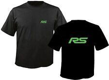 T-shirt para ford focus rs 2.5 500 turbo conductor tamaño: s - 3xl/#032