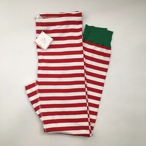 Hanna Andersson Mens XL Pajama Pants Very Merry Christmas Stripe NEW