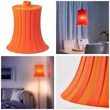 """IKEA AMTEVIK Lamp Shade Orange Stripes Size 15"""""""