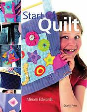New, Start to Quilt (Start to), Miriam Edwards, Book