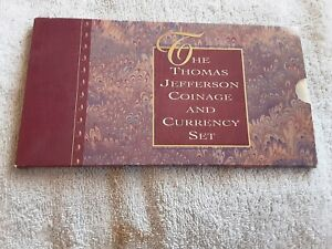 1993 Thomas Jefferson Coinage And Currency Set. U.S. Mint