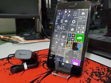 Microsoft Lumia 640 XL LTE Schwarz Entsperrt Smartphone auf neuesten Windows 10 v1709!