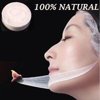 Natural Compressed Face Cotton Mask Sheet DIY Facial Mask Spa Skin Care