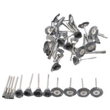 Carbon Steel Wire Wheels Pen Brushes Set Kit Rotary Tool Accessories BL3