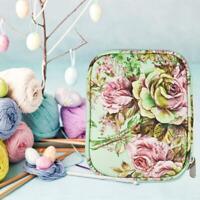 Knitting Yarn Storage Bag Case Crochet Hooks Thread Sewing Kits Organizer