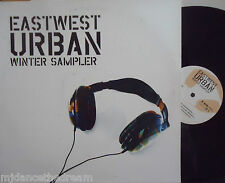 "EASTWEST URBAN WINTER SAMPLER ~ 6 Track Various ~ 12"" Single PS PROMO"