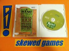King of Clubs MINT - Wii Nintendo COMPLETE