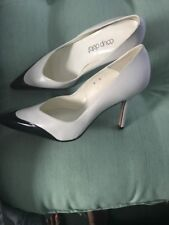 Coup D'etat Black And White High Heel Pointed Toe