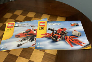 Lego Creator Instruction Book Manual Booklet ONLY 4895-1 & 4895-2 4895