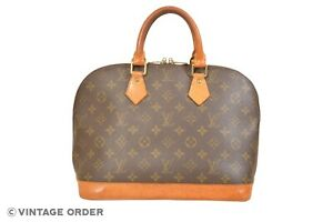 Louis Vuitton Monogram Alma Hand Bag M51130 - YH00055